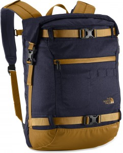 The North Face Pickford Rolltop bag... probably not the best bag for the job but it actually did alright.